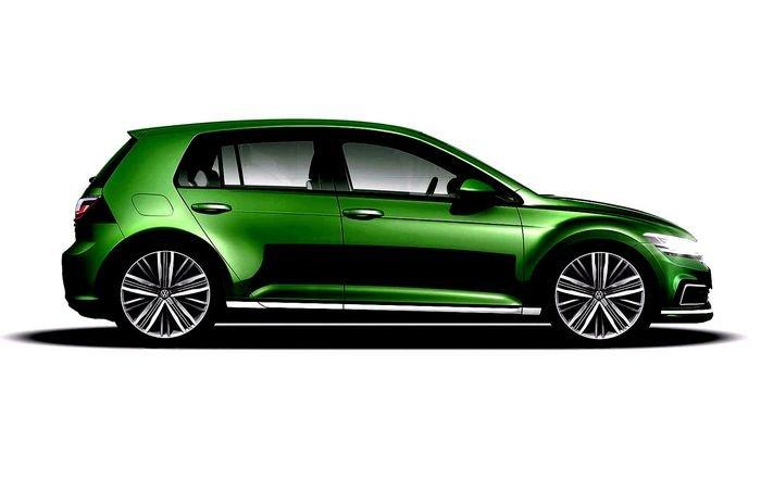 2019 Испытательный мул VW Golf 8 показал множество сочных деталей