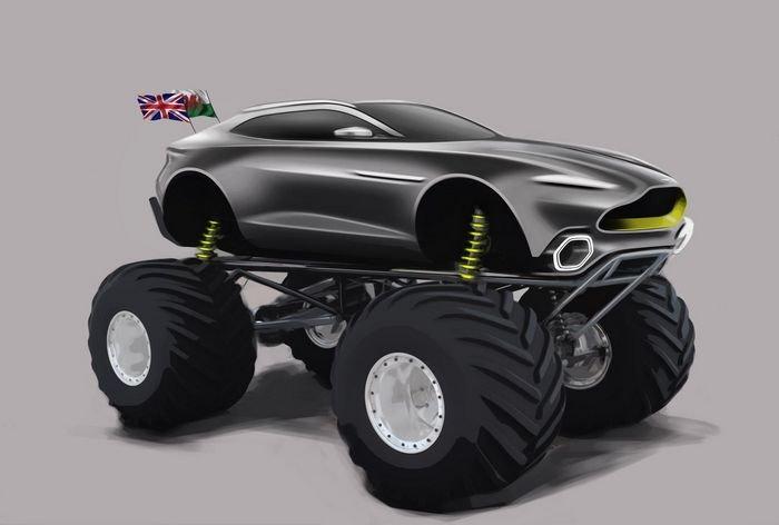 Апрельский дурак Aston Martin выглядит больше, чем шутка