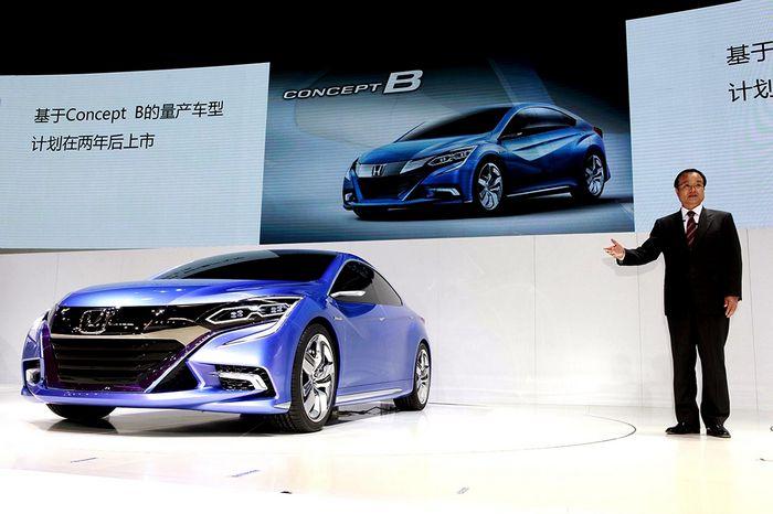 Honda перевела два новых концепта в Пекин