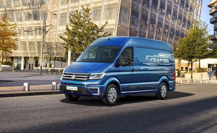 Volkswagen Group открыл заказ на двойника e-Crafter — MAN eTGE