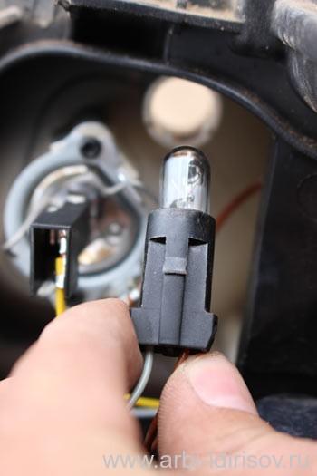 Замена Лампы Фары Форд Фокус 2 Рестайлинг