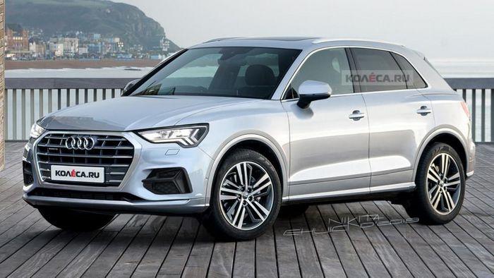 «Заряженный» Audi SQ3 впервые появился на шпионских фотоснимках