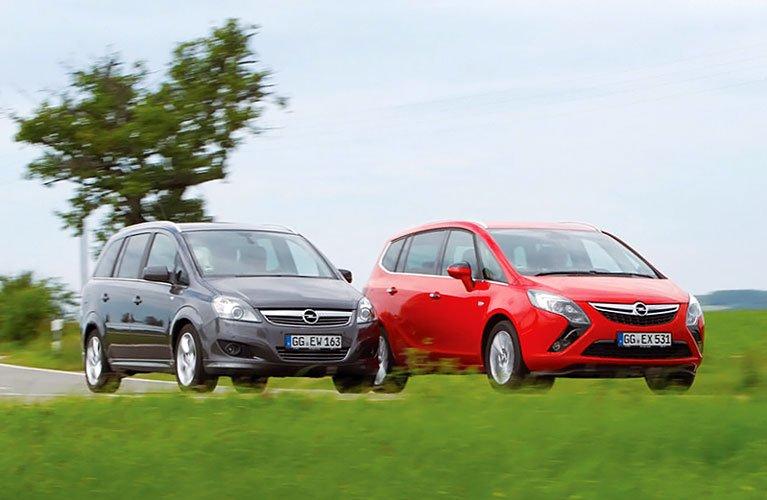 Opel-Zafira-Family