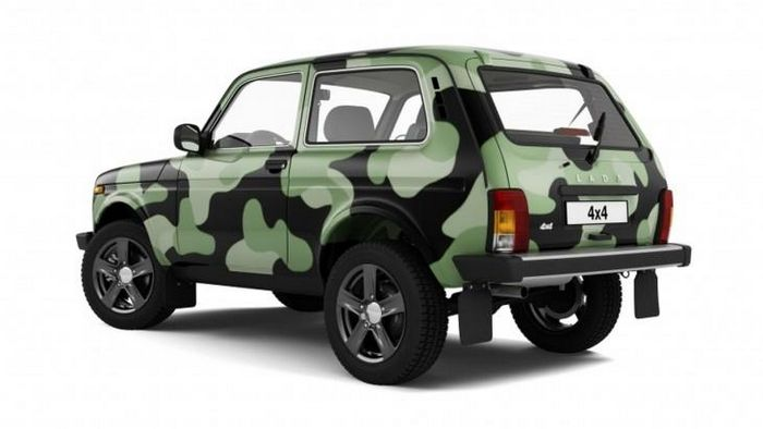 «АвтоВАЗ» добавил внедорожнику LADA 4х4 камуфляжную окраску