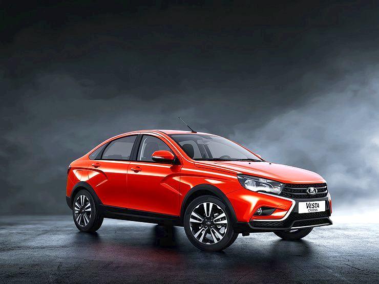 АВТОВАЗ представил «внедорожный» автомобиль LADA Vesta Cross