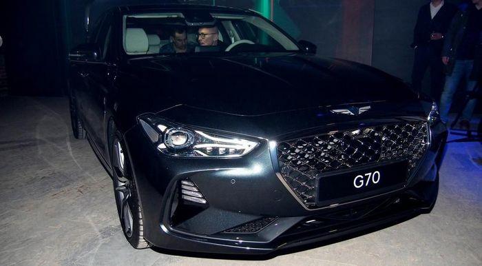 Цены Genesis G70 в России: в «базе» — дороже BMW 3 Series