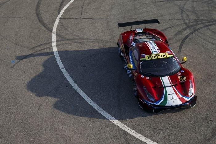 Ferrari 488 GTE Evo дебютирует в Фиорано, хочет выиграть в Ле-Мане...