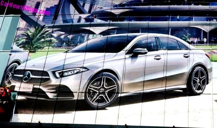 Привет, вы Mercedes-Benz A-Class Sedan Long Wheelbase?
