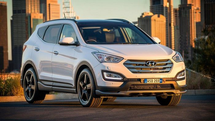 Hyundai Santa Fe 2017 Тест Драйв