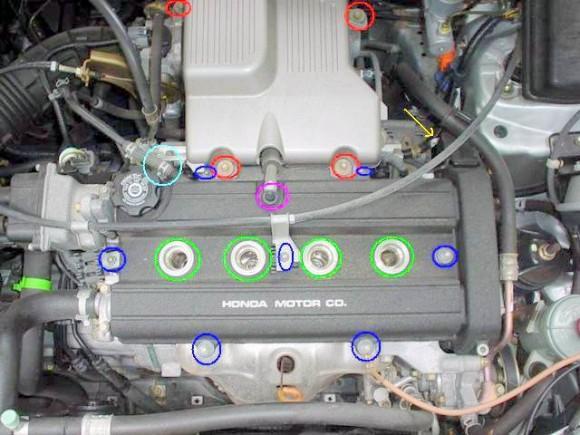 Как Отрегулировать Клапана Хонда Срв