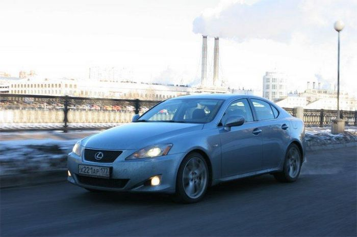 Lexus Is 250 Тест Драйв