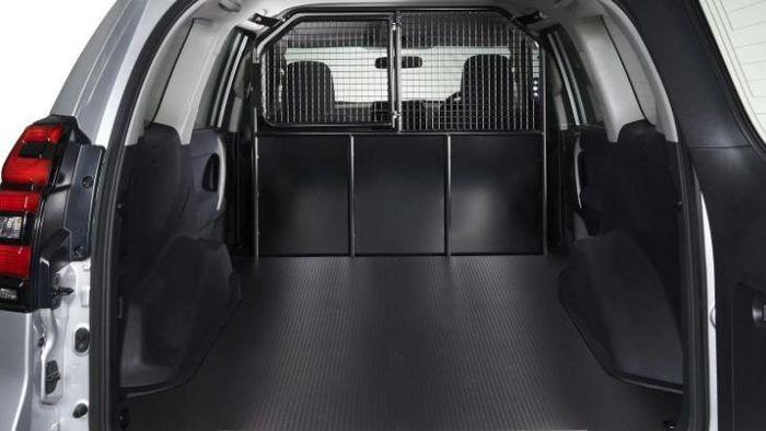 Обновлённый Toyota LC Prado превратили в развозной фургон