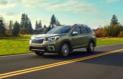 Subaru готовит новейшую гибридную автомодель Evoltis
