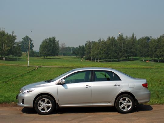 Тойота Королла 2010 Видео Тест Драйв