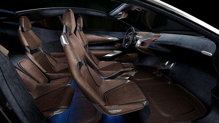 У кроссовера Aston Martin будут только бензиновые моторы
