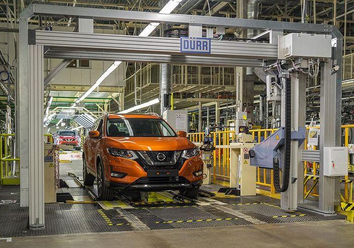 В России началась тестовая сборка обновленного Nissan X-Trail