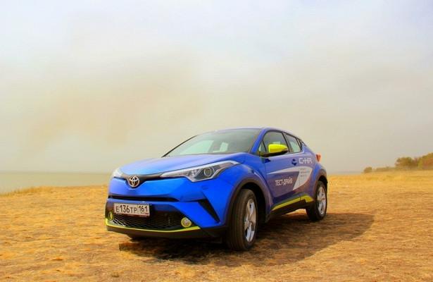 Toyota C-HR: свежие новости, фото, цена