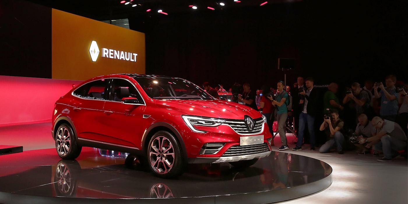 Renault Arkana свежие новости