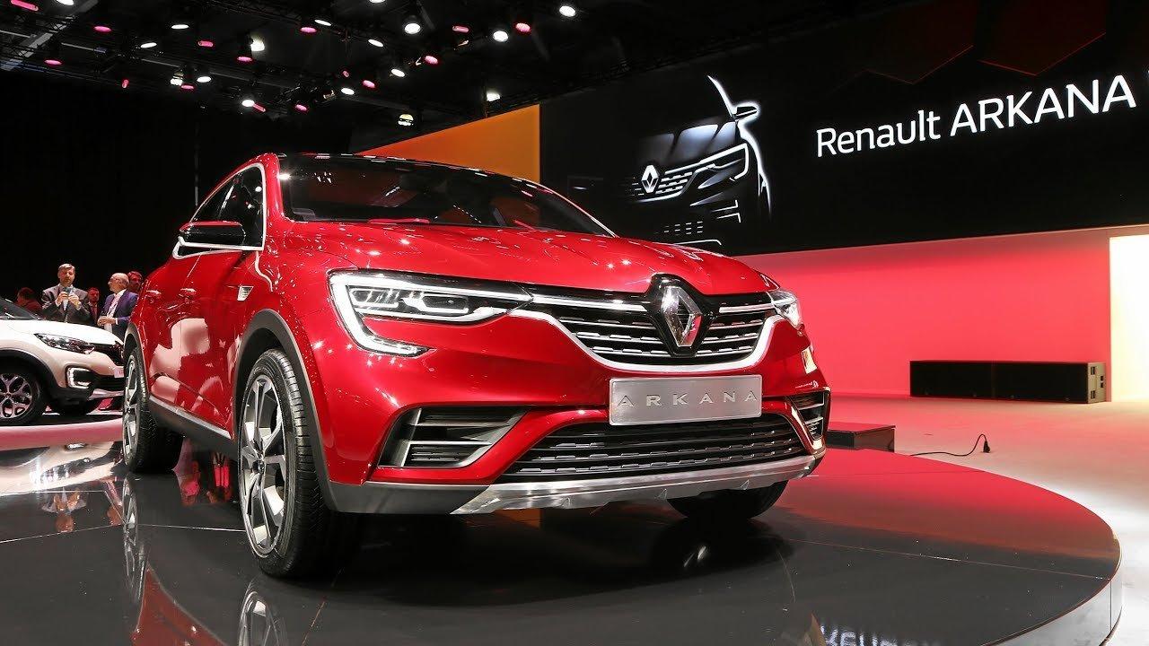 Новый кроссовер Renault Arkana: фото и цены