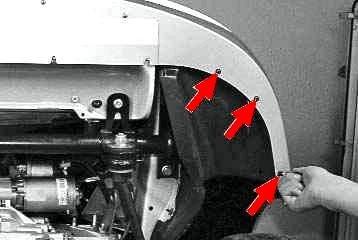kak ustanovit podkrylki na prioru 7 1 - Штатные подкрылки на приору