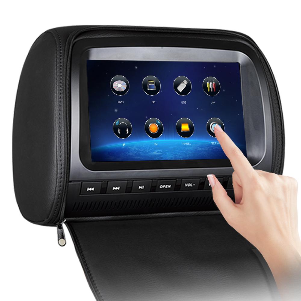 Сенсорный монитор для авто в подголовник